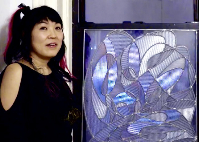 """Kazue Taguchi """"Inspired by Stained glass"""""""