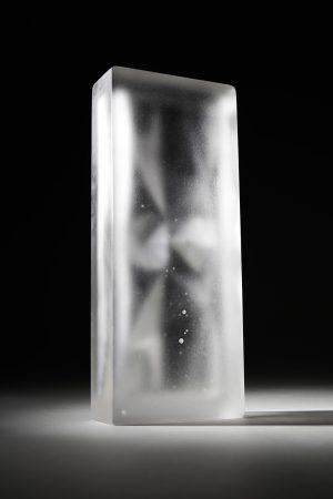 Fragment of a melting world